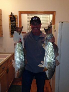 Redfish caught at Bayhouse Copano