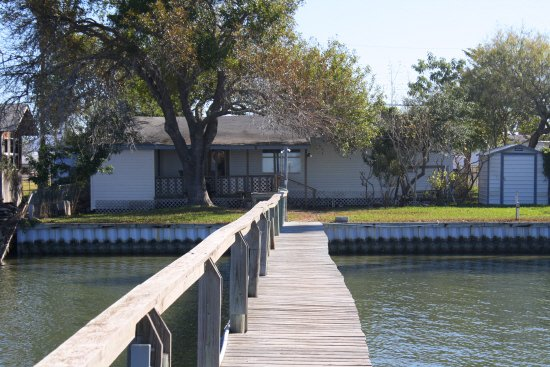 Copano Bay vacation rental home.