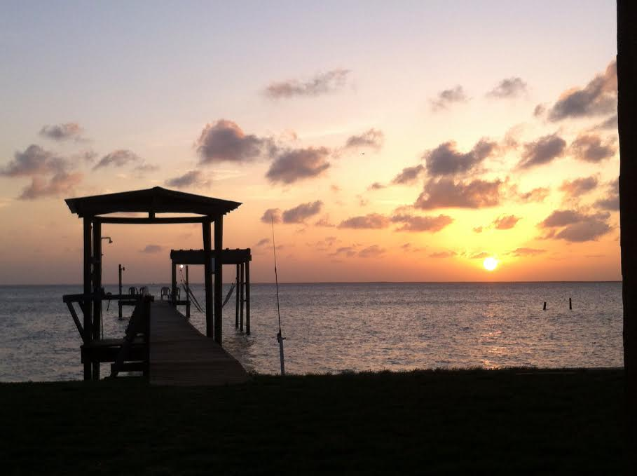 Copano Bay sunset